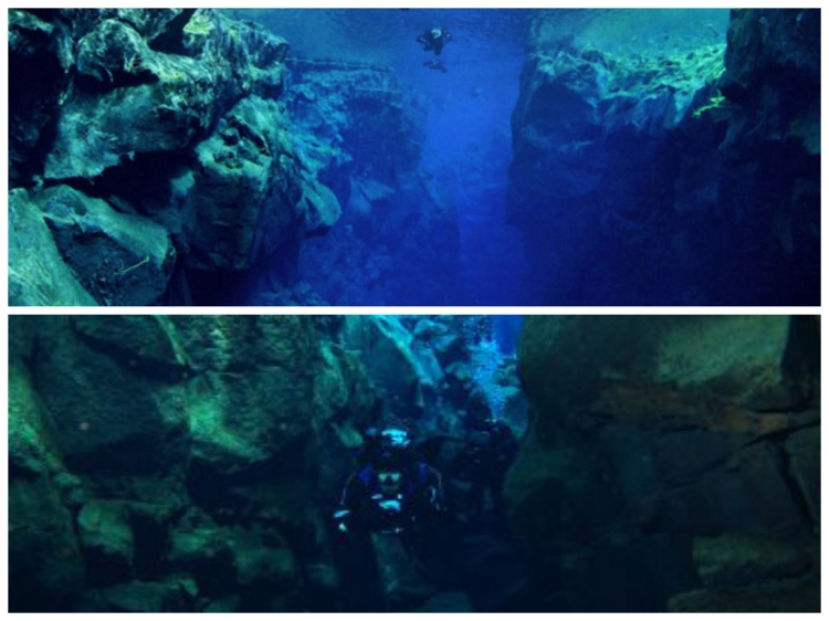Silfra-Spalte Island