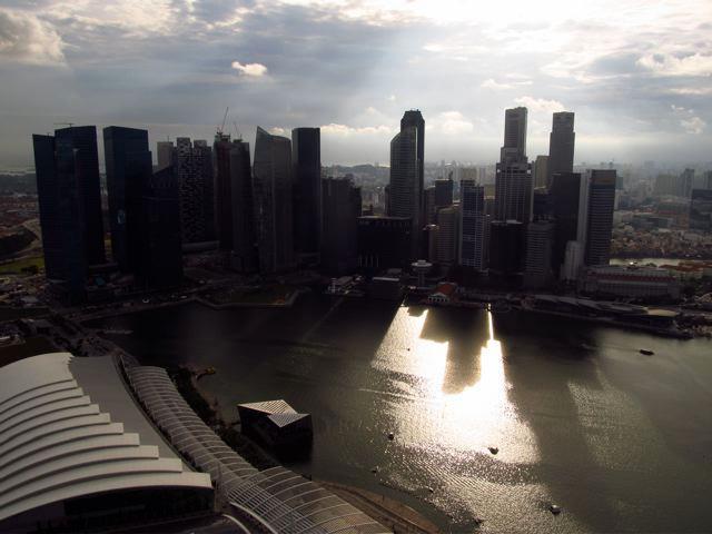 Ausblick auf Singapur