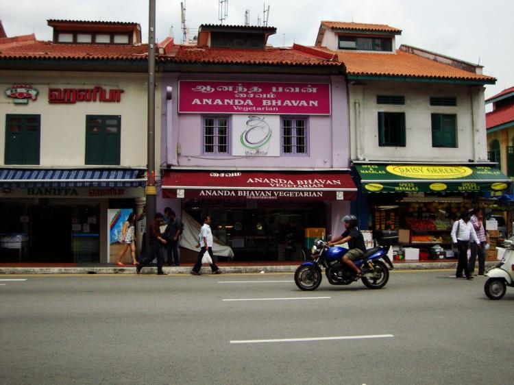 Ananda Bhavan in Singapur