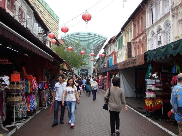 Einkaufsstraße China Town
