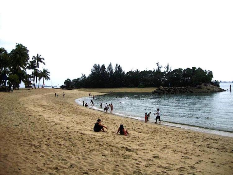 Singapur beach